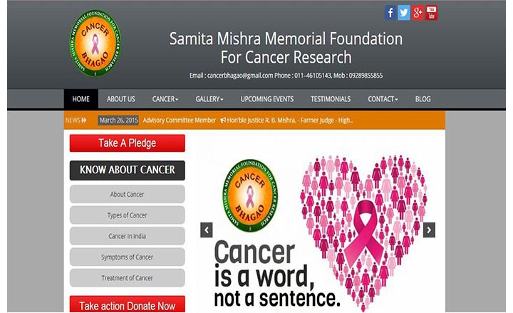 Samita Mishra Memorial Foundation For Cancer Research