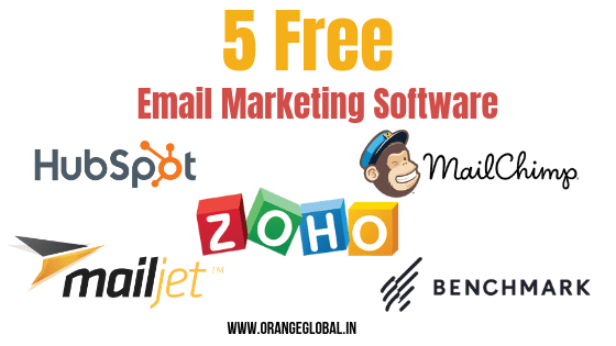 5 free email marketing software